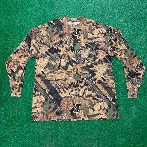 Vintage Deadstock Mossy Oak Camo Pocket T Shirt